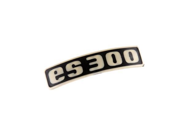 Schriftzug (Plakette aus Kunststoff) ES300