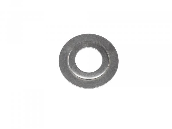 Oil guide disc - for crankshaft bearings
