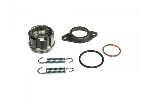 Set: Calotte with accessories complete for 28mm elbow - Simson S50, S51, S53, S83, SR50, and others.