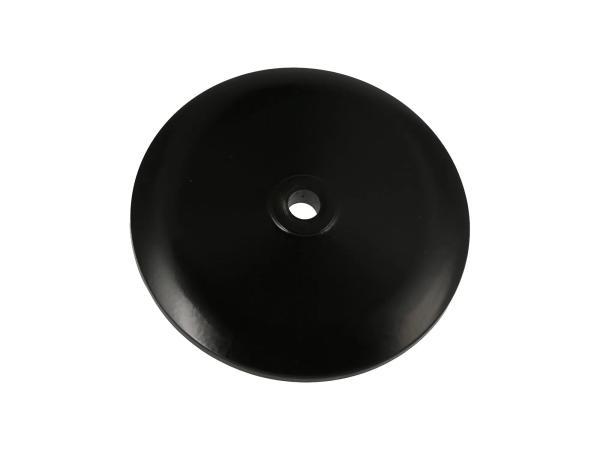 10069434 Deckel für Radnabe vorn, Aluminium, schwarz matt pulverbeschichtet - Bild 1