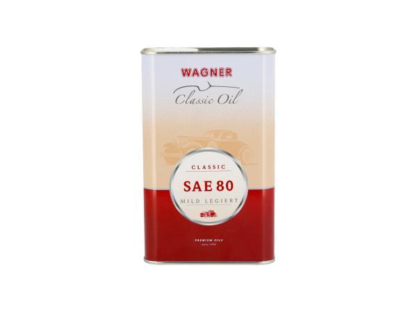 10055579 Getriebeöl für Oldtimer Wagner* SAE 80 (1 Liter) - Bild 1
