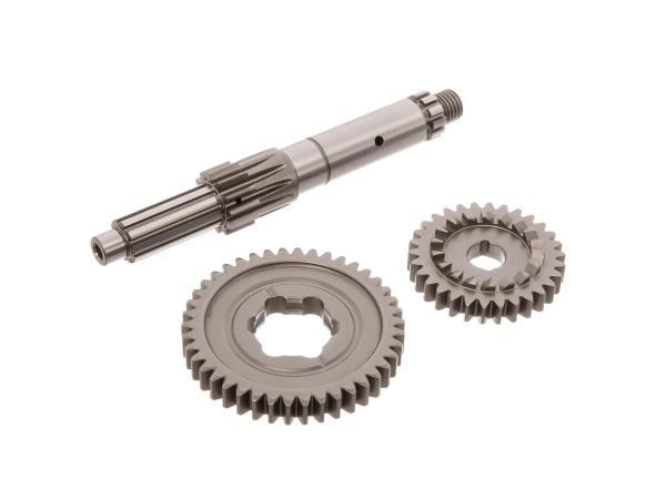 Set: Umbau auf Langer 1. Gang, für 5-Gang Getriebe - für Simson S51, KR51/2 Schwalbe, S53, S70, S83, SR50, SR80