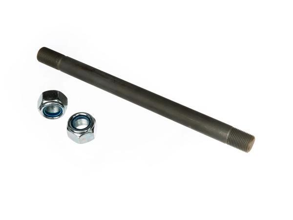 10064604 Lagerbolzen f. Schwinge ETZ125, ETZ150 - Abmessungen: M18 - Länge ca. 245mm - Vollmaterial - Bild 1
