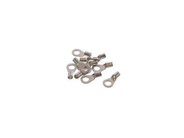 10x Quetschkabelschuh KS4x2,3 für Drahtquerschnitt 1,5-2,5 mm²