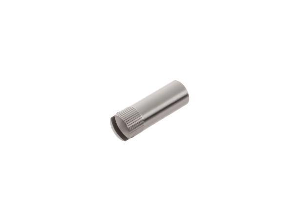 Verschlussstopfen zum Abschlussdeckel, Mutter f. Vergaserabdeckung -  passend für BK350 - Edelstahl, poliert