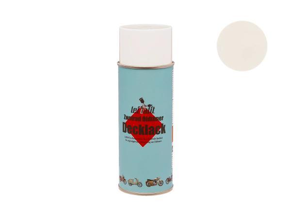 Spray can Leifalit top coat cream white - 400ml