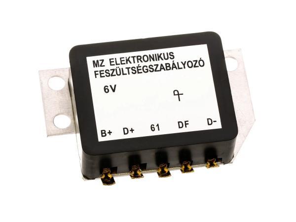 Spannungsregler 6V elektronisch - für MZ ES125, ES150, ES175, ES250, ES 300, TS125, TS150, TS250
