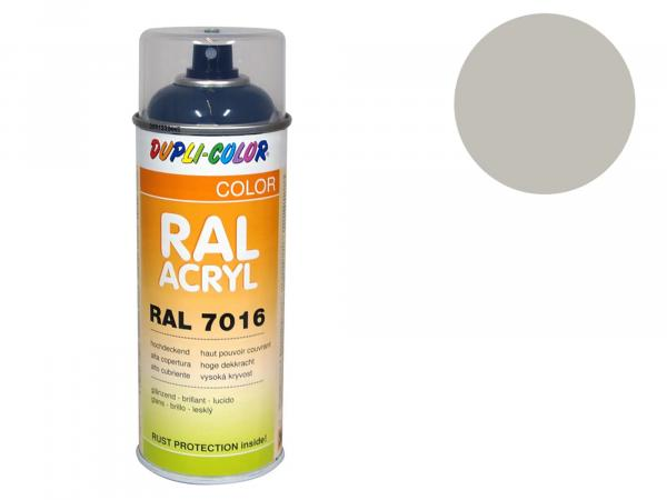 Dupli-Color Acrylic Spray RAL 7044 silk grey, glossy - 400 ml