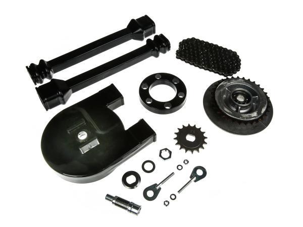 Großes Kettenradantrieb-Set (Ketten-Set) - Simson SR50, SR80