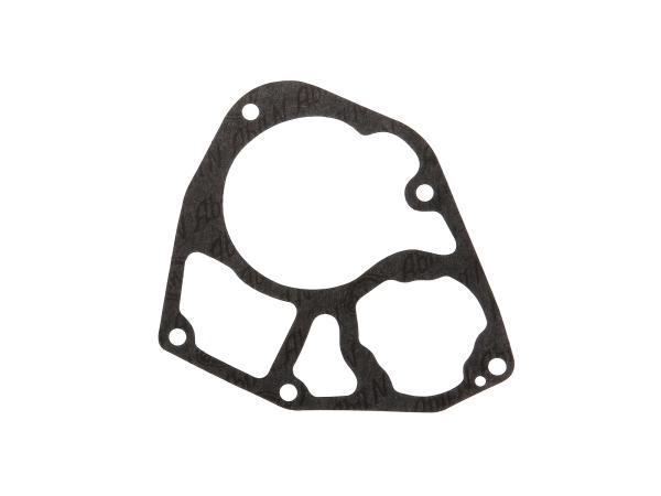 Getriebedeckeldichtung - hinterer Deckel - R35-3 ( Marke: PLASTANZA / Material ABIL ) (passend für EMW)