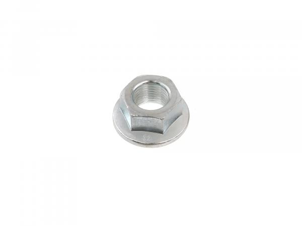Hexagon nut M16x1.5 with flange - DIN6923