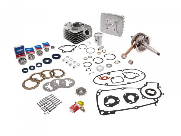 Set: all parts for regeneration: engine complete - for Simson S50