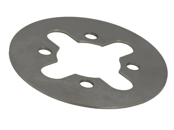 Kupplungslamelle 1,5 mm (gelasert) - für Simson S50, KR51/1 Schwalbe, SR1, SR2, SR2E, SR4-1 Spatz, SR4-2 Star, SR4-3 Sperber, SR4-4 Habicht, DUO 4/1