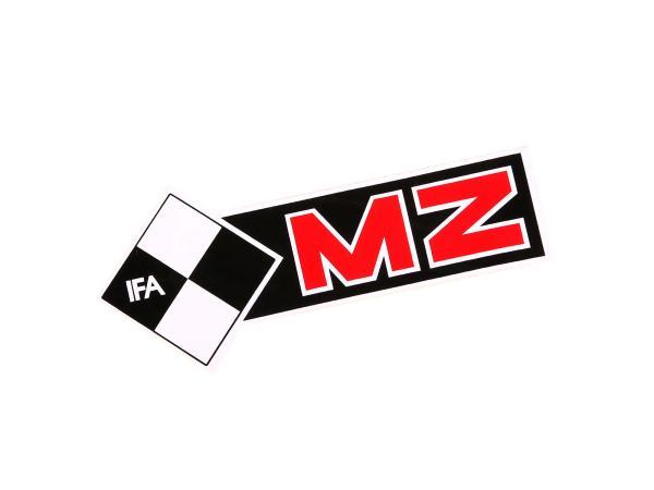 Schriftzug (Folie) MZ IFA linke Seite*