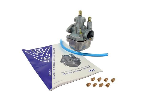 Set: BVF carburetor 19N1-11 + nozzle set fine tuning for 70ccm