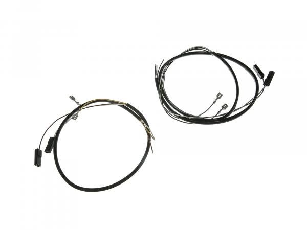 Wire harness for switch combination 6V + 12V without headlight flasher, Enduro handlebar - Simson S51, S70