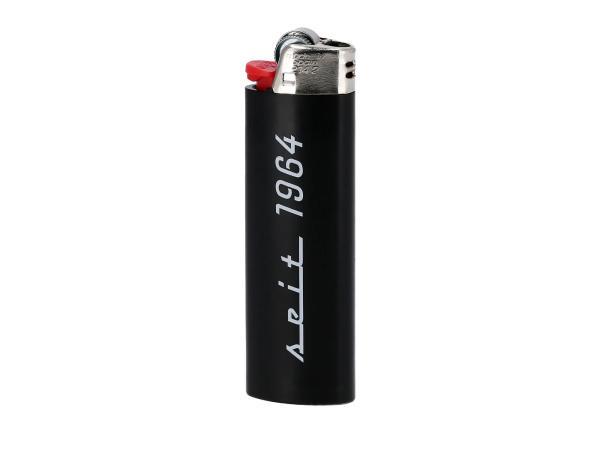 10069742 BIC-Feuerzeug, schwarz - mit Schwalbe-Logo + 55 - Bild 1