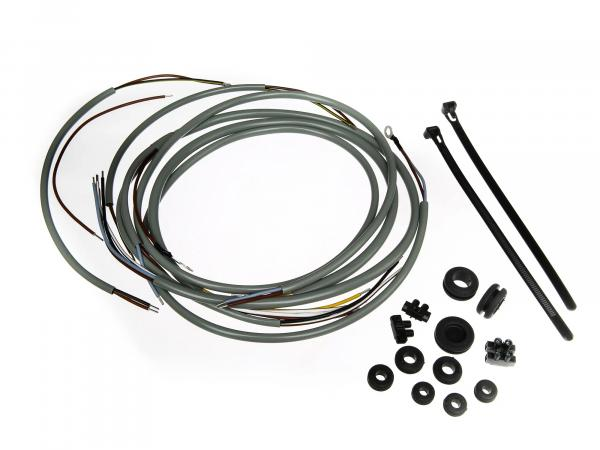 wiring harness set SR2 with ground (direct current) grey, incl. wiring diagram