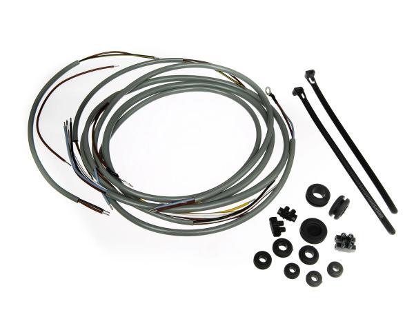 Kabelbaumset SR2 mit Masse (Gleichstrom) grau, inkl. Schaltplan
