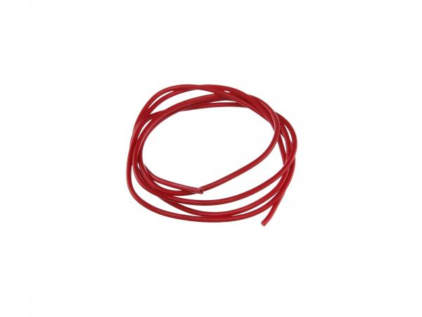 Cable - red 1,5mm² Automotive cable - 1m