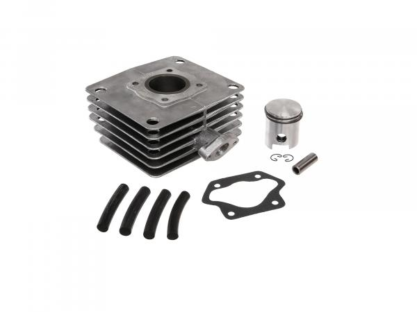 Set: 4-channel cylinder + piston, 60ccm - Simson S51, KR51/2 Schwalbe, SR50