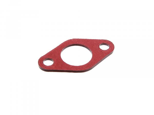 Insulating flange gasket 2mm thick, 21mm diffuser in red