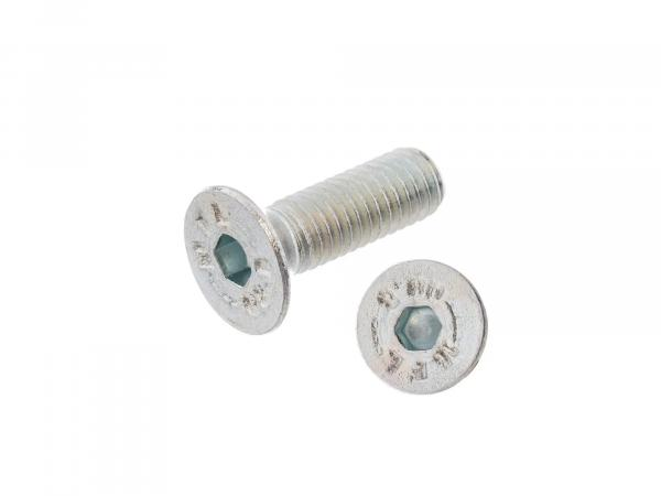 Countersunk screw, hexagon socket M5x15 - DIN7991