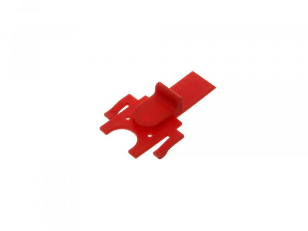 Zündschlossabdeckung rot, Armaturenträger - Simson S53, S83 C, CX