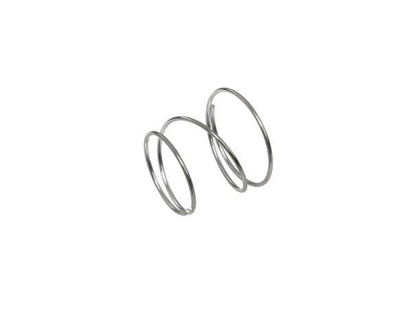 Pressure spring for valve plate (telescopic fork) - for MZ ETZ 125, ETZ150, ETZ250, ETZ251, ETZ301, TS125, TS150, TS250