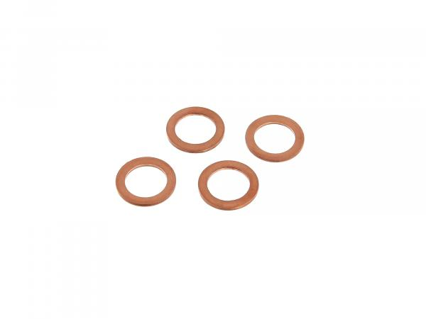 Sealing ring set for tie rod (1 set = 4 copper ring) suitable for AWO-Tours, AWO-Sport