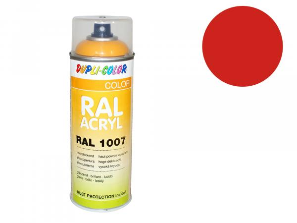 Dupli-Color Acrylic Spray RAL 2002 blood orange, glossy - 400 ml