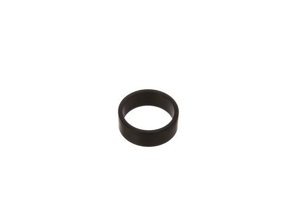 Abstandshülse Motorschuh, schwarz - für MZ ETZ,TS, ES, ETS