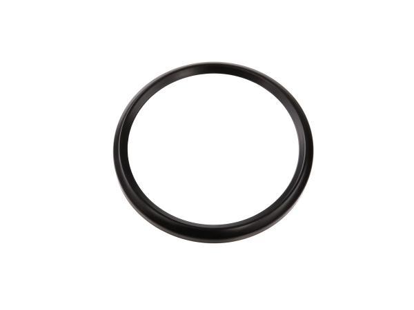 10057979 Tachoring Ø80mm, schwarz für Tacho und Drehzahlmesser ETS/TS/ETZ - Bild 1