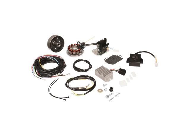 Lichtmagnetzündanlage kpl. mit Kabelbaum passend für AWO425 Touren 12V 150W - Zündung -
