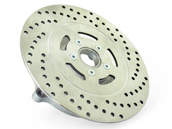 Brake disc carrier with brake disc ø 220 stainless steel - SRA50 automatic roller with narrow rim