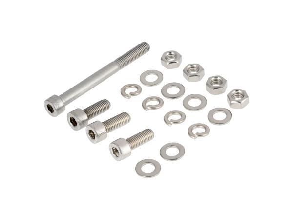 ST10001260 Stückliste - Set: Zylinderschrauben, Innensechskant in Edelstahl für Rahmen S50, S51, S53, S70, S83 - Bild 1