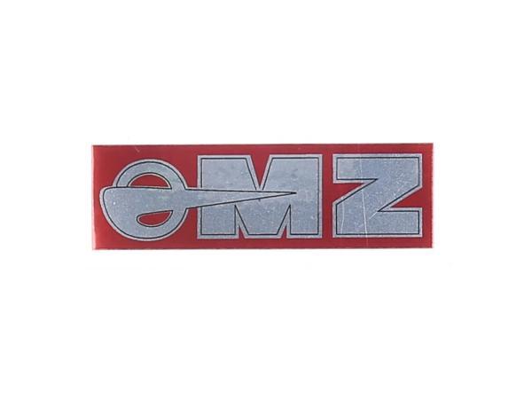 10068773 Schriftzug (Folie) MZ Logo chrom 91x28mm, made in Germany - Bild 1