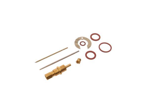 Reparatursatz für Vergaser (9-teilig, Typ Rundschieber) - für IWL Pitty, SR56 Wiesel