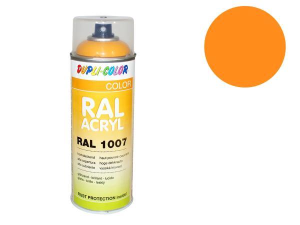 Dupli-Color Acryl-Spray RAL 1028 melonengelb, glänzend - 400 ml