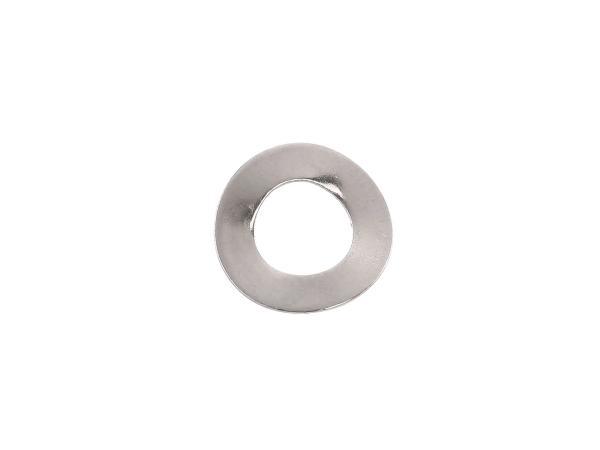 Federscheibe A5-Fst-E4J (DIN 137) - gewölbt - vernickelt
