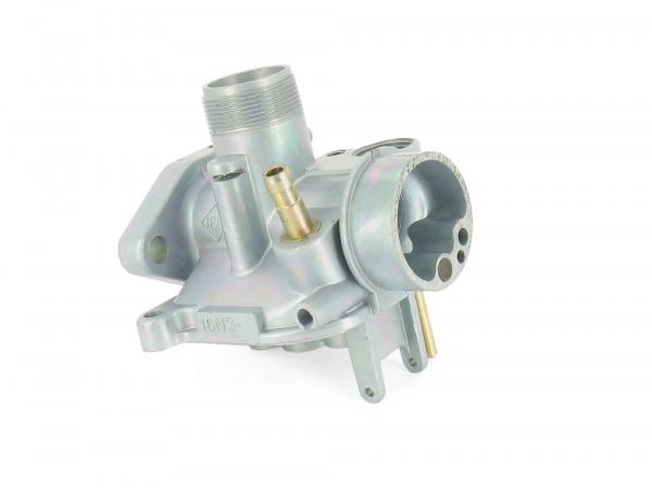 Carburettor upper part BVF 16N3 / 2x 1,0 with (straight connection piece)