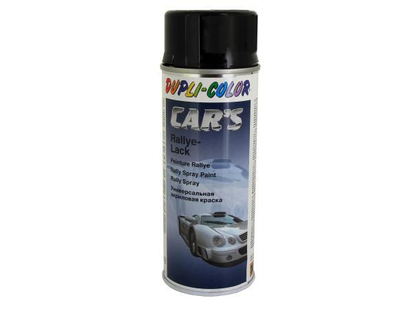 10003010 Dupli-Color CAR´S Rallye-Lack Schwarz, glänzend - 400ml - Bild 1