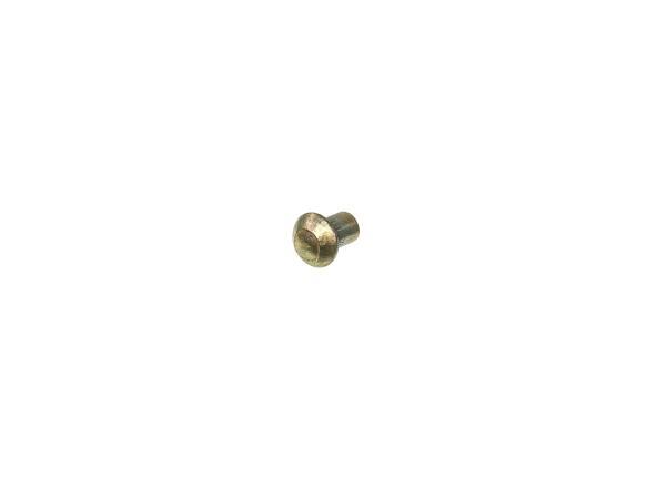 Half-round rivet DIN 660 - 3x4 ST- A4K RT125, TS125, TS150