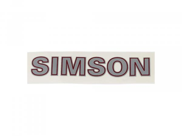 Adhesive foil, sticker - Simson - approx. 96mm long