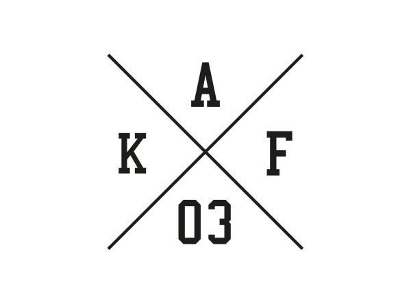 """Aufkleber - """"Kreuz AKF 03"""" Folienplot Schwarz, mit Übertragungsfolie"""