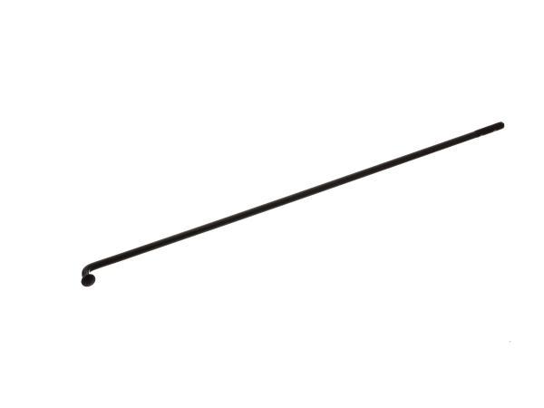 Speiche 217 mm M4 (gekröpft) schwarz passend für AWO-T