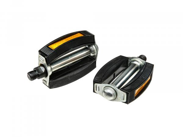 1 pair of pedals, right+left - for Simson SR1, SR2, SR4-1 Sparrow, SL1 Mofa