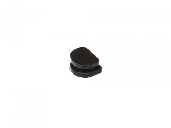 Plug without hole, rubber - for Simson S51, KR51/2 Schwalbe, SR50, S53, S70, S83, SR80