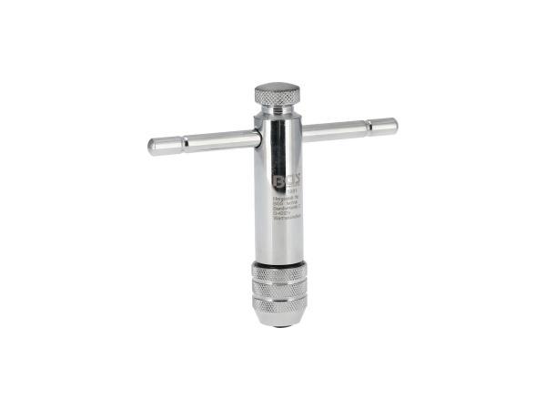 10069859 Werkzeughalter für Gewindebohrer M5-M12, mit Knarre, 110mm - Bild 1