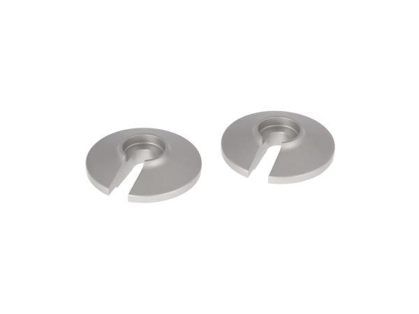 Set: 2 x silver matt washer - for Enduro suspension Simson S51 Enduro